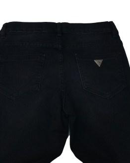 Trasera Guess pantalón tejano negro con apliques