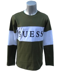 Guess camiseta chico franja central