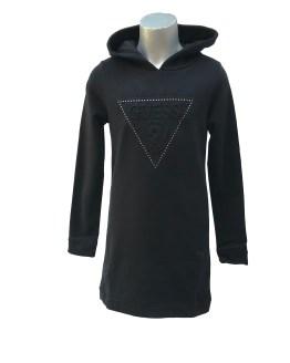 Guess vestido con capucha varios colores negro
