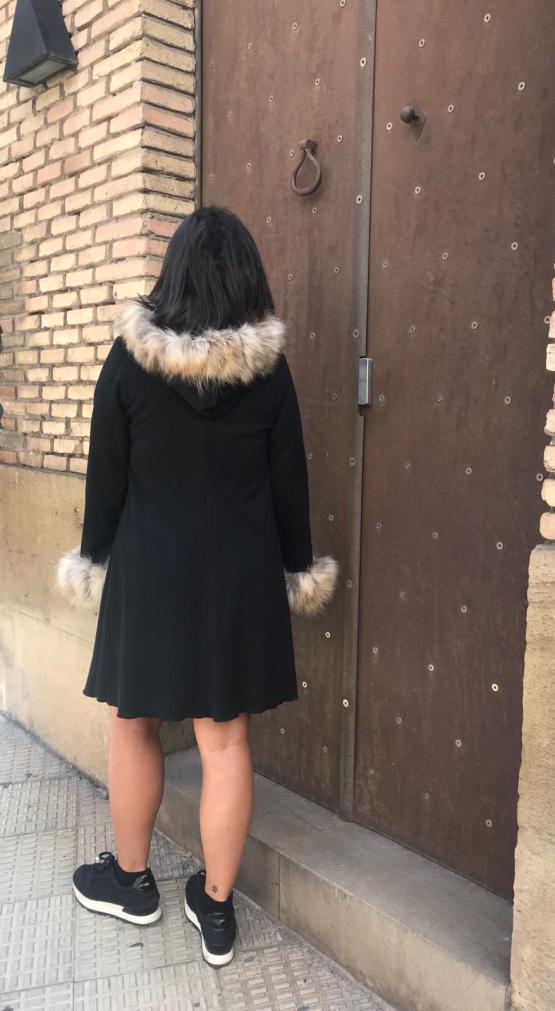 Bella Bimba colección Ópalo vestido evasé espalda
