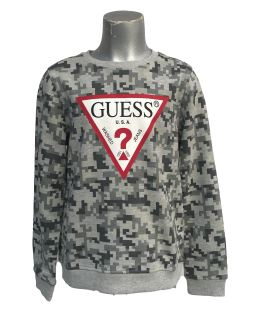 Guess sudadera chico grises