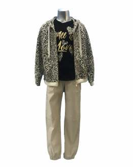Propuesta look Elsy chaqueta animal print