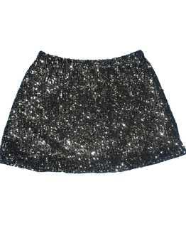 Elsy falda lentejuelas plateada