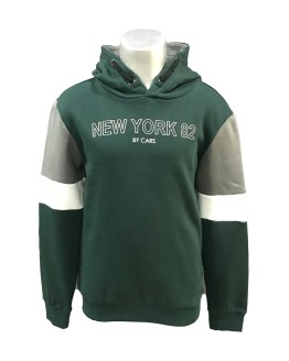 Cars Jeans sudadera verde New York 82