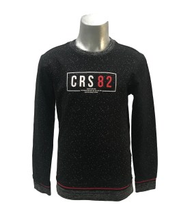 Cars Jeans sudadera negra CRS 82