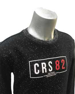Detalle Cars Jeans sudadera negra CRS 82