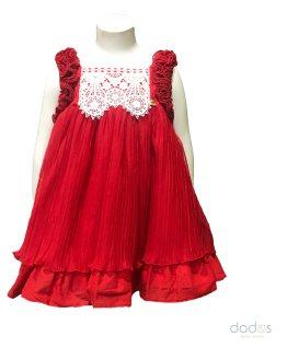 Dolce Petit vestido rojo vuelo