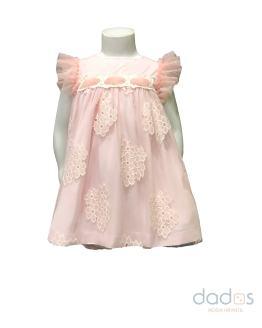 Dolce Petit vestido y braguita tul con flores