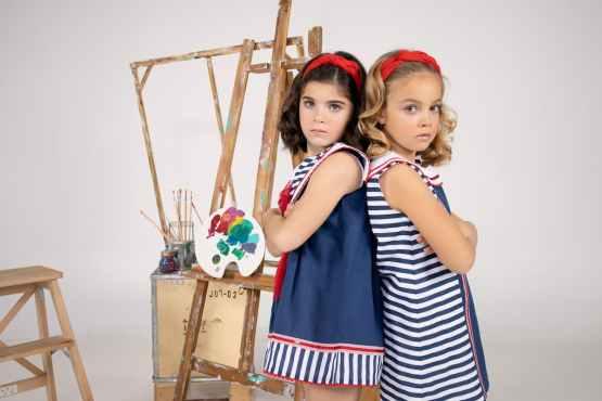 Marta y Paula colección Monet vestido niña