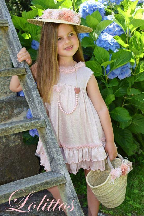 Vestido recto glamur Lolittos