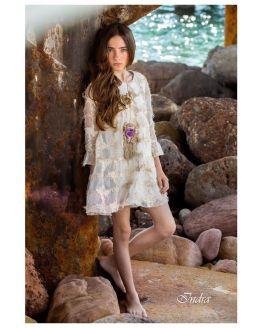 Bella Bimba colección Indra vestido evasé catálogo