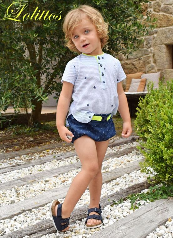 Catálogo Lolittos colección Star rana y camisa niño