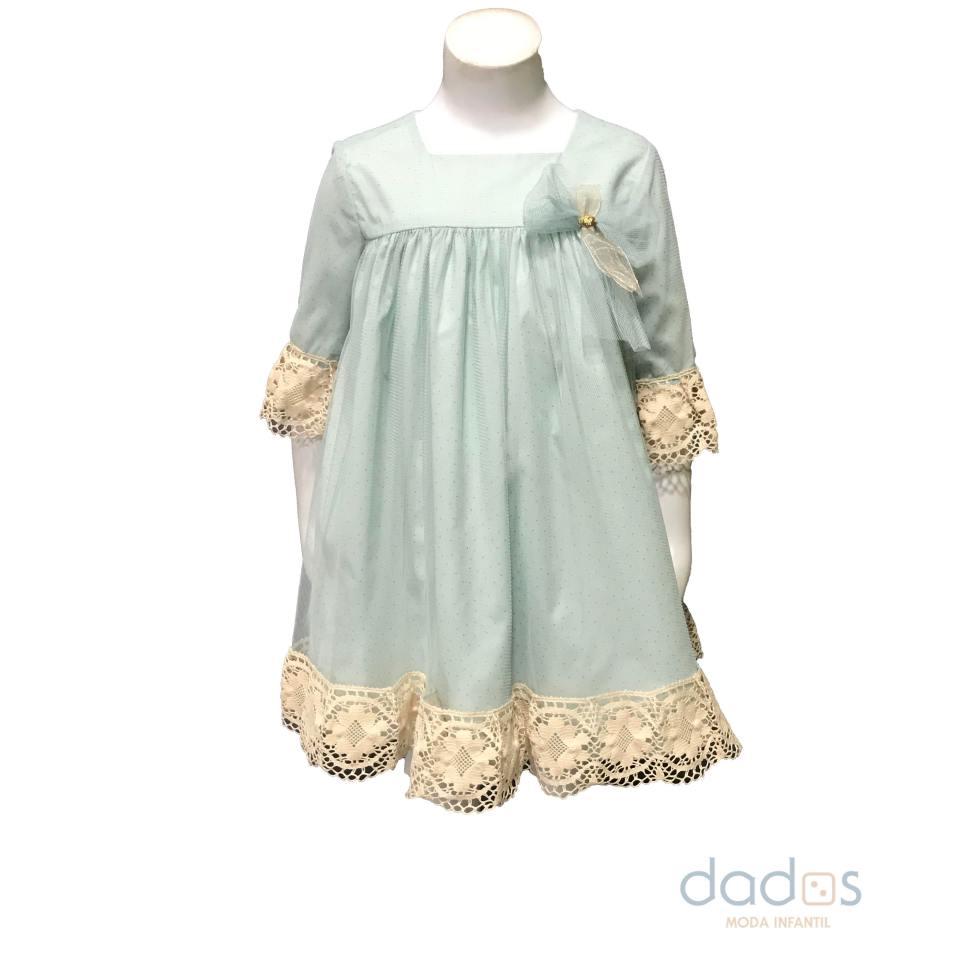 Marta y Paula colección Klimt vestido