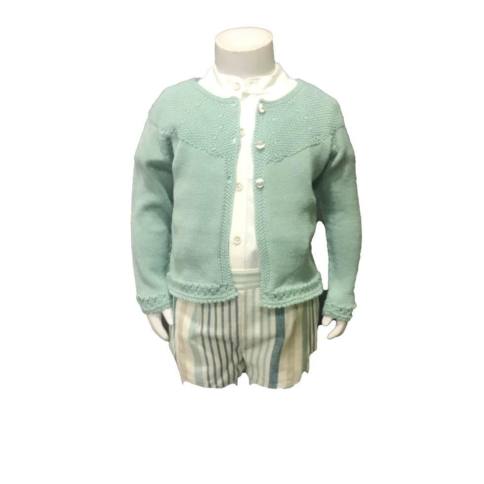 Look con chaqueta Marta y Paula colección Klimt conjunto tirantes