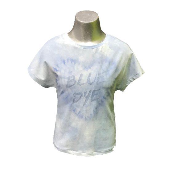 Elsy camiseta azul desgastado corazón