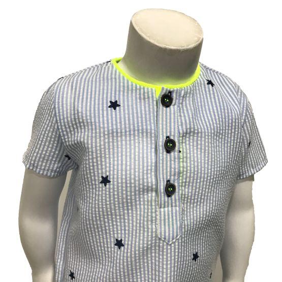 Detalle Lolittos colección Star rana y camisa niño