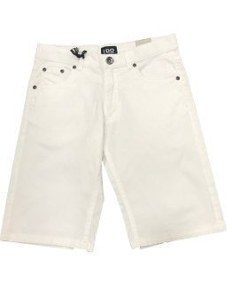 IDO bermuda 5 bolsillos blanca