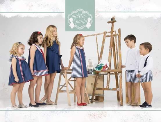 Marta y Paula colección Monet vestido niña catálogo