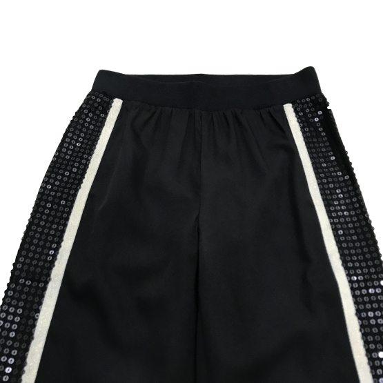 Guess pantalón sport lentejuela y dorado detalle