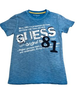 Guess camiseta chico azul 81