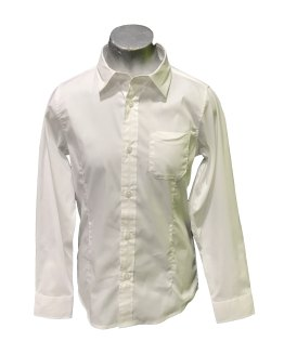 Sarabanda camisa blanca entallada