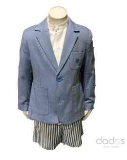 Dolce Petit conjunto americana, pantalón y camisa