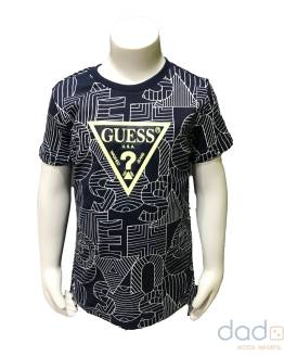 Guess Kids camiseta logo rayas
