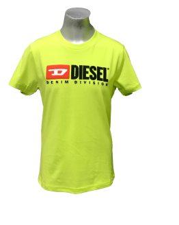 DIESEL camiseta lima logo tela relieve
