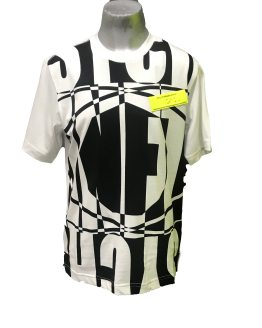 DIESEL camiseta letras negras
