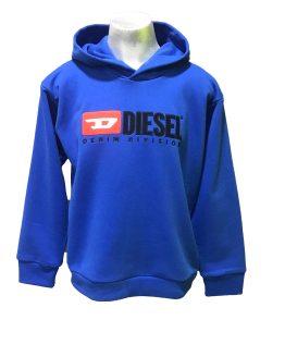 DIESEL sudadera azulona con capucha