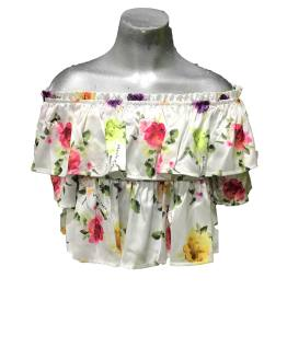 Manila Grace top estampado flores