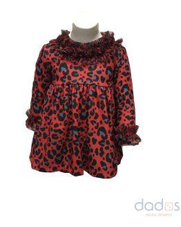 Mon Petit Bonbon jesusito leopardo rojo