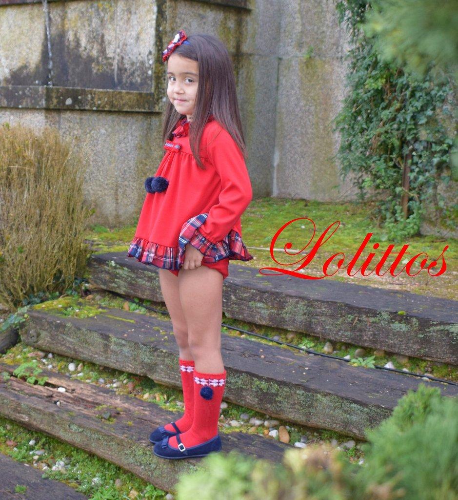 Catálogo Lolittos colección Christmas blusón y cubre