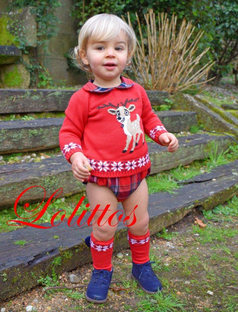 Lolittos colección Christmas jubón con cubre niño catálogo