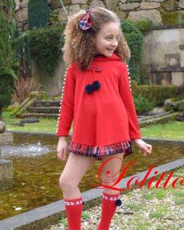 catálogo Lolittos colección Christmas vestido perlas
