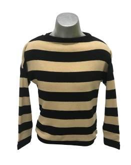 ELSY jersey rayas lazo espalda