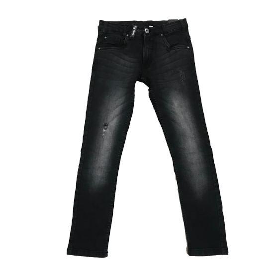 Sarabanda pantalón vaquero negro rotos