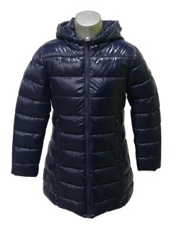 IDO abrigo azul tejido térmico y forro pelo