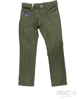 IDO pantalón niño verde slim fit