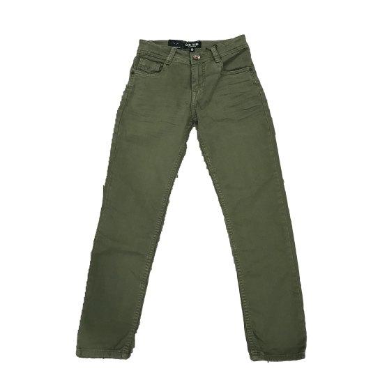 Cars Jeans pantalón verde regular fit