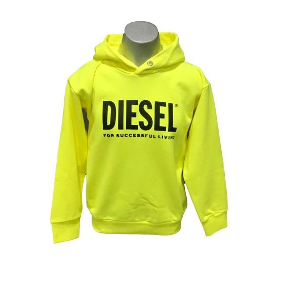 Diesel sudadera fluor capucha