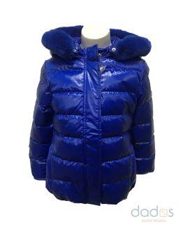 Guess kids chaquetón plumas azulón