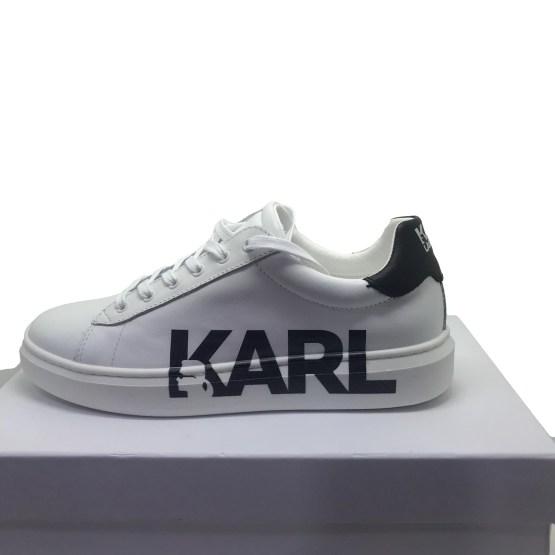 Karl Lagerfled zapatillas blanca letras