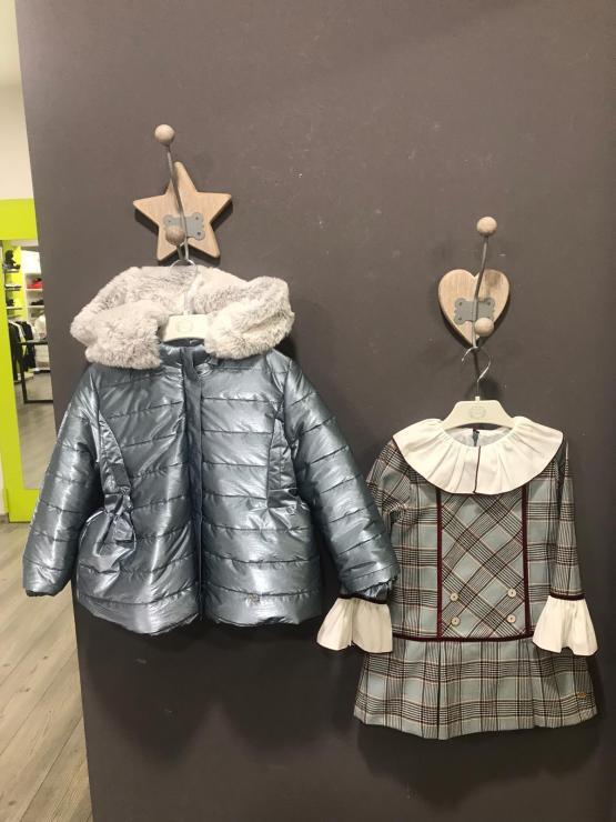 Propuesta conjunto vestido y abrigo Marta y Paula