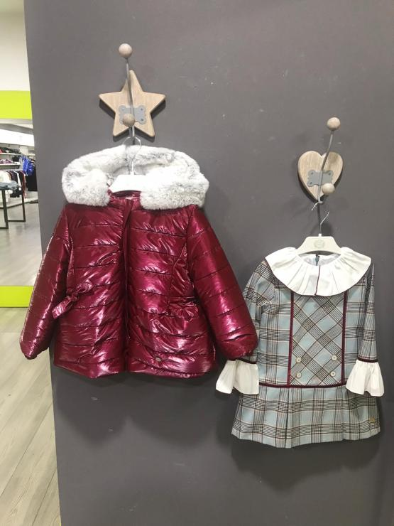 Idea conjunto abrigo y vestido Marta y Paula