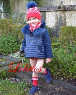 Lolittos colección Christmas abrigo niño
