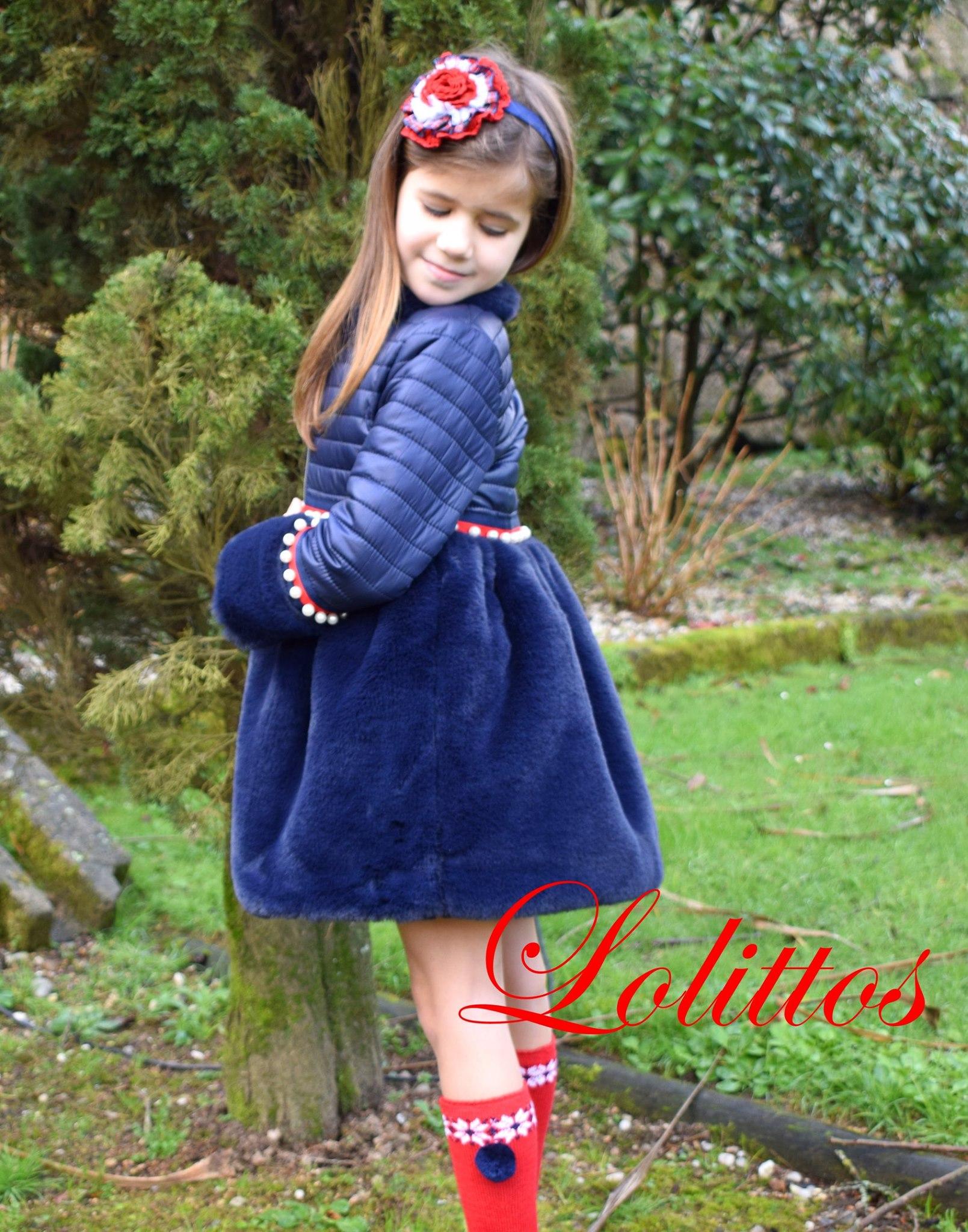 Lolittos colección Christmas abrigo vuelo catálogo