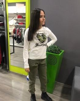 Marta ELSY camiseta blanca corazón