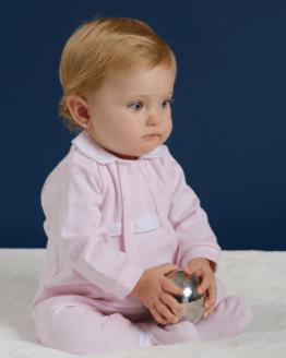 Catálogo Tutto Piccolo pelele rosa ovejitas