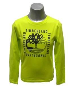 Timberland camiseta fluor manga larga